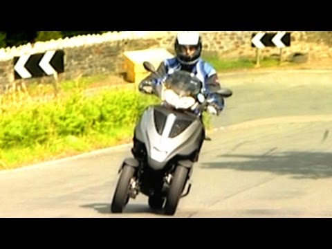Taking On The Isle Of Man TT On A 3 Wheeled Scooter #TBT - Fifth Gear