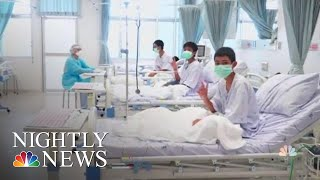 New Images Of Thai Soccer Team As They Recover In The Hospital | NBC Nightly News