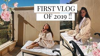 first vlog of the new year ! || Asia Monet
