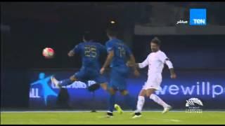 """شاهد.. """"بيريز"""" يحرز الهدف الثاني لمنتخب العالم في نجوم الكويت"""