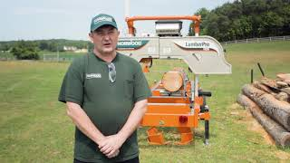 AUSSIE Sawing Tech Tips - Turning Your Logs With Hydraulic Log Turner & Hydraulic Log Clamps