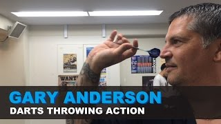GARY ANDERSON Throwing Acтion (slow mo)