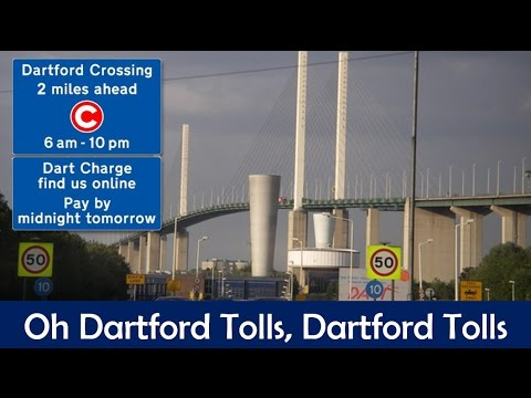 Dartford Tolls - By Southend News Network (NSFW)