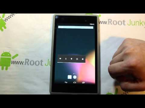 Nexus 7 OMNI Rom install and review