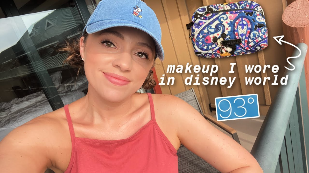 what I *actually* wore in disney world (hot + humid) // embarrassing story time