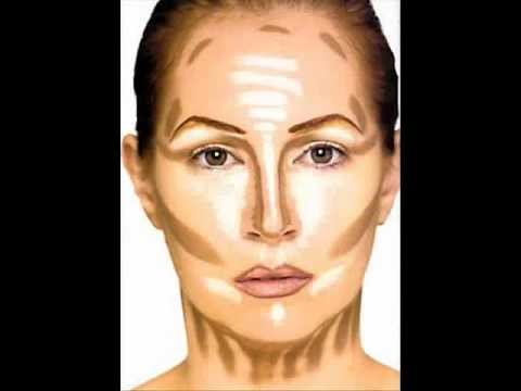 how to put makeup base on face
