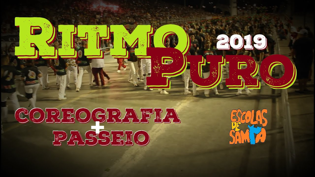 Mocidade Alegre 2019 - Passeio Pela Ritmo Puro   Coreografia - - YouTube c84ddcf3f1a79