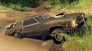 MAD MAX MONTE CARLO OFF-ROADING! Mudding & Hill Climbing (SpinTires)