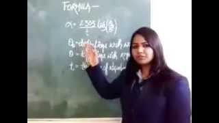 absorption  coefficient of a liquid (b.tech physics practical)