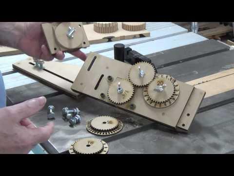 Wheel kerfing jig - Part 2 (Using)