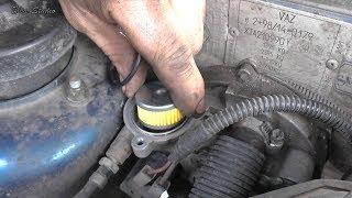замена газового фильтра ВАЗ 21099