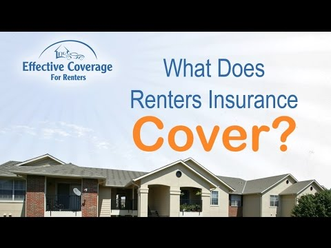 What Does Renters Insurance Cover? - YouTube