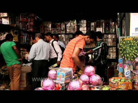 Diwali brings cheer to firecracker markets in South Delhi