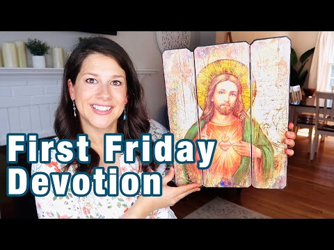 9 FIRST FRIDAY DEVOTION to the SACRED HEART OF JESUS (amazing promises in the video)