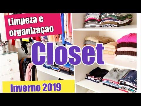 Parte # 2 : Faxina e organização de inverno 2019  closet e penteadeira thumbnail