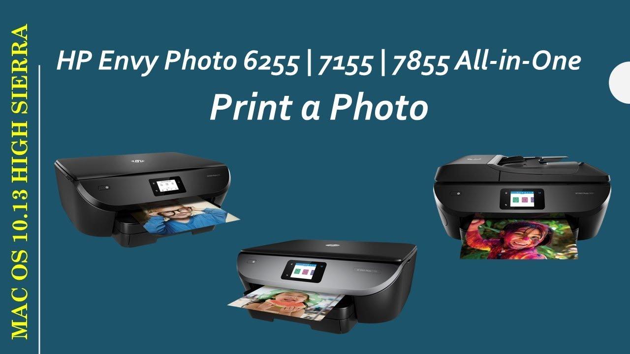 Hp Envy Photo 6255 7155 7855 Print A Photo On Macos10