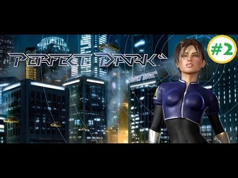 Perfect Dark Campaign (XBLA) #2 - dataDyne Research - Investigation (Perfect Agent)