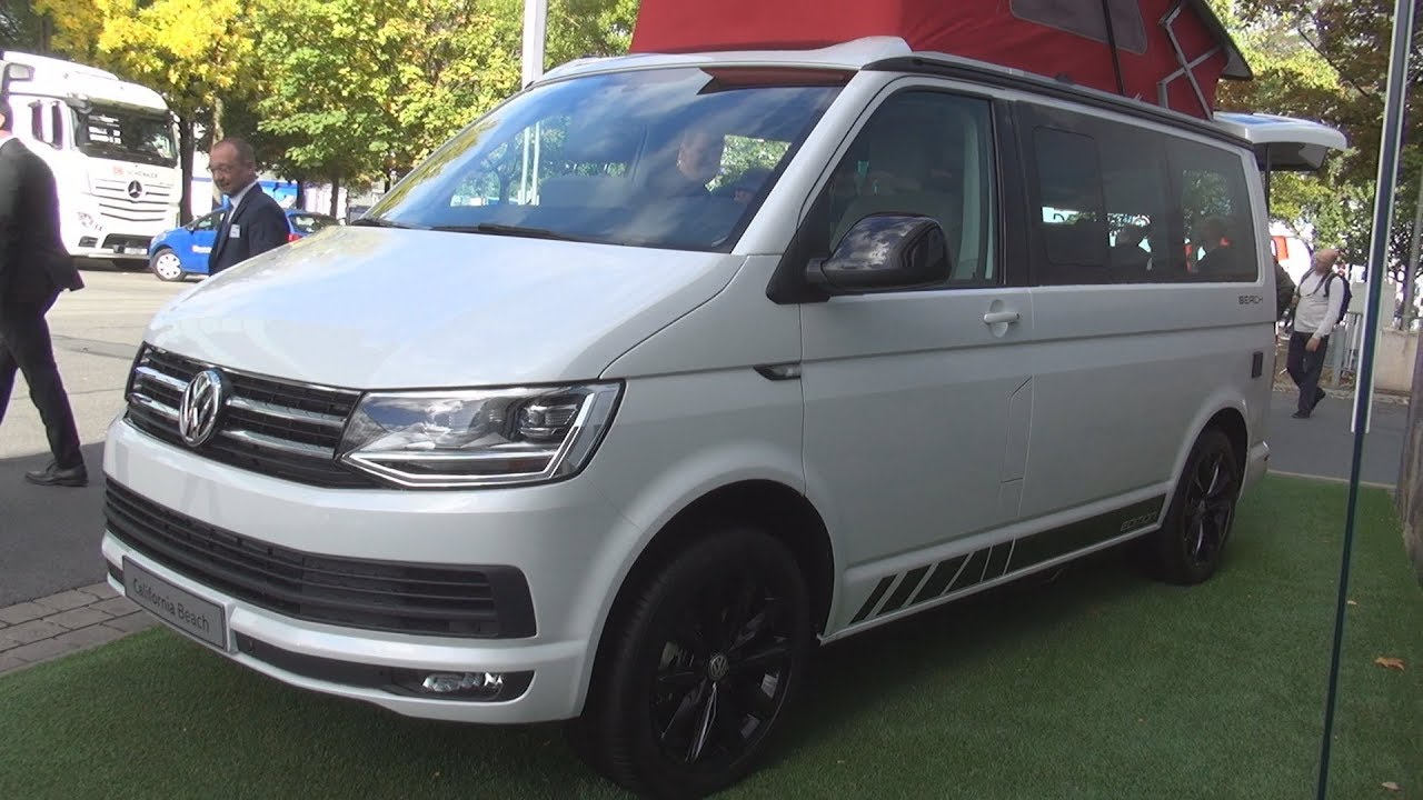 volkswagen transporter t6 2 0 tdi 150 hp 6mt california beach edition 2019 exterior and. Black Bedroom Furniture Sets. Home Design Ideas