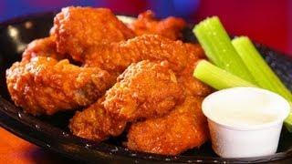 LOW-FAT Buffalo Wings & VITA Guava Juice | Chicken : ASMR / Mukbang ( Eating Sounds )