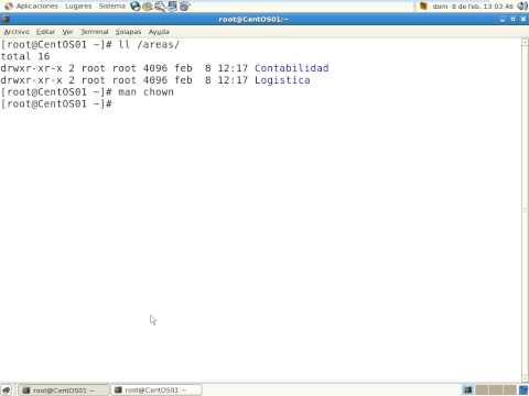 Linux CentOS - chmod y opciones