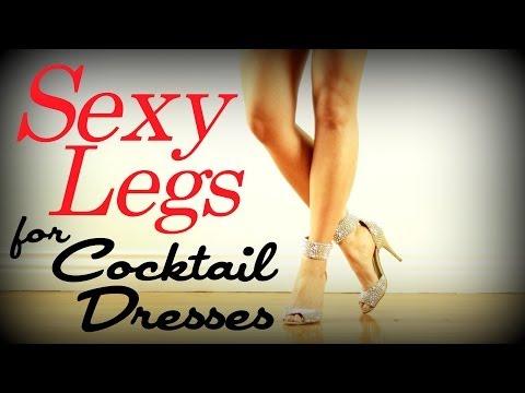 Sexy Sculpted Legs Workout | Cocktail Dress Series