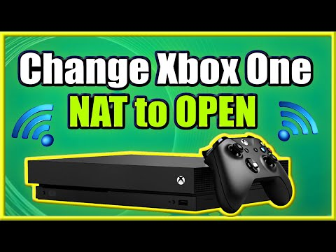 How To Change Xbox One NAT To OPEN And FIX Strict Connection Issues! (Easy Method)