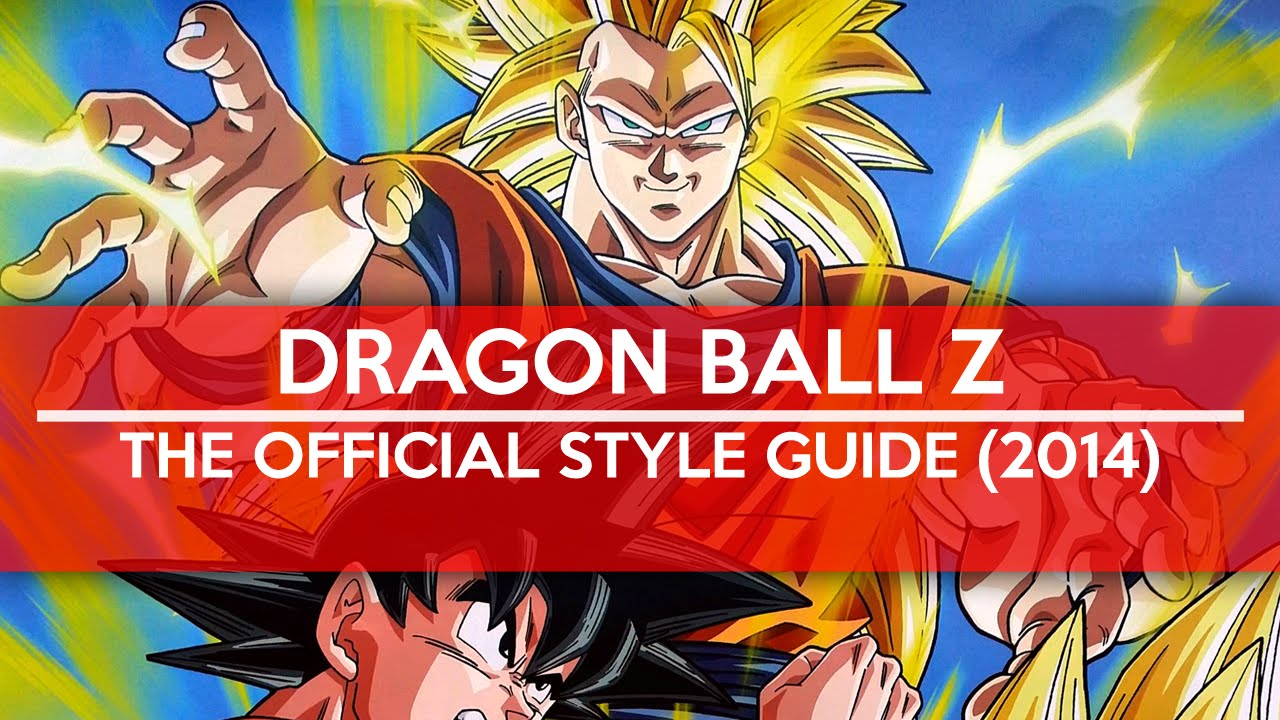 Préférence Dragon Ball Z - The Official Style Guide (2014) - YouTube QD04