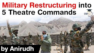 What is Theatre Command? Indian Military restructuring into 5 Theatre Commands #UPSC #IAS