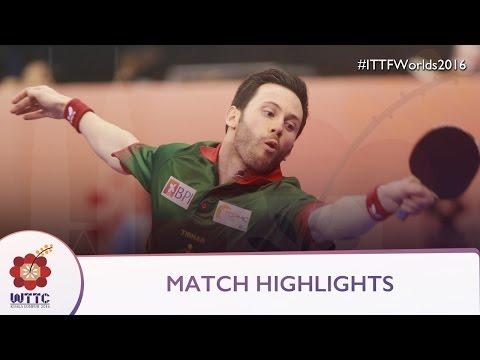 2016 World Championships Highlights: Jun Mizutani vs Joao Monteiro