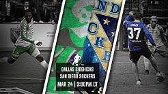 Dallas Sidekicks vs San Diego Sockers