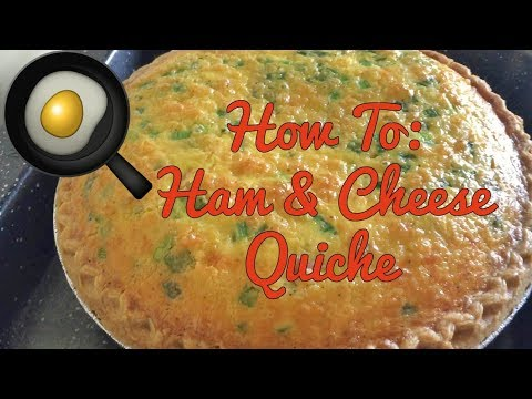 How To: Easy Ham & Cheese Quiche!
