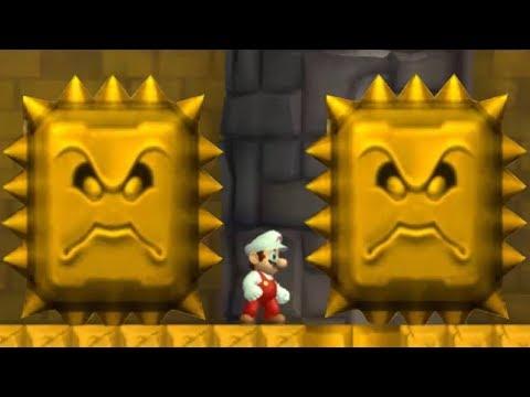Newer Super Mario Bros Wii - All Castles