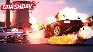 LAMBORGHINI MINIGUN - Crashday Redline Edition Gameplay