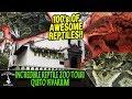 INCREDIBLE REPTILE ZOO TOUR AT THE QUITO VIVARIUM! - ADVENTURES IN ECUADOR (2019)