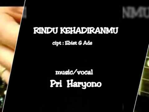 Pri Haryono (solo guitar) RINDU KEHADIRANMU ~