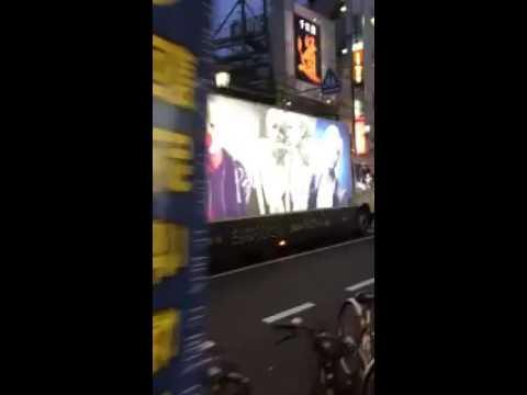 160716 Look at Taemin's Sayonara Hitori advertising bus amazing