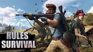 ДОРОГА В ТОП-1 - RULES OF SURVIVAL - iOS / ANDROID
