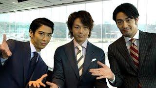 俳優の大谷亮平、中村倫也、賀来賢人が新たにイメージキャラクターを務...