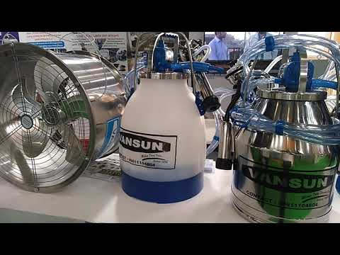 VANSUN Motorized  MILK MACHINE  And Dairy Equipment At Agro Tech Bengaluru 2019