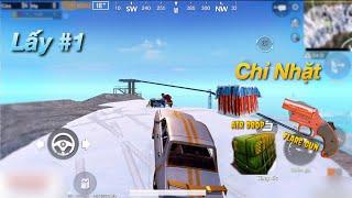 PUBG Mobile | Chỉ Nhặt Flare Gun - Air Drop - Hòm Thính Trên Đỉnh Núi Lấy #1  √