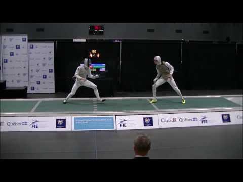 2017 Pan Ams MF Gold Race Imboden vs Alex Massialas