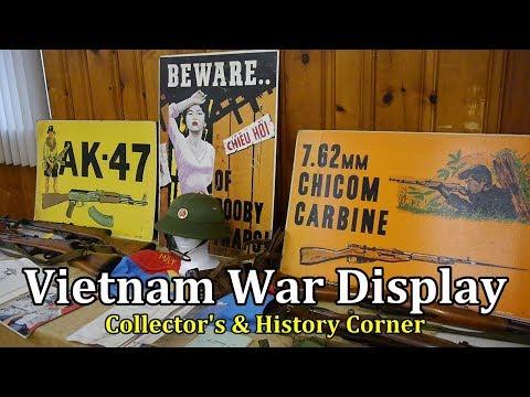 Vietnam War Display | Collector's & History Corner