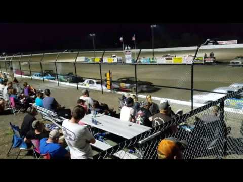 Grayson county speedway 5-27-17 Factory Stock Feature