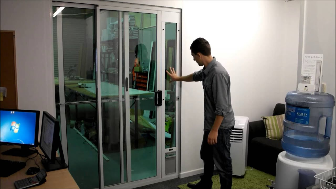 Modern Pet Doors Patio Pet Door Review Youtube