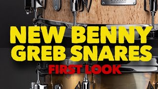 The new Benny Greb Signature Snare Drums by Sonor