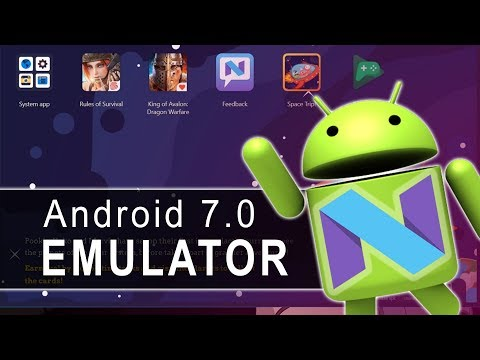 New Android 7.0 Nougat Emulator for Windows 10 PC | Best Android Emulator 2018