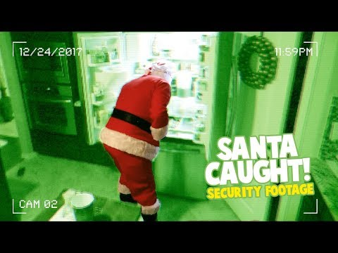 Santa Caught On Camera! (Kids React)