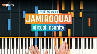 "How to Play ""Virtual Insanity"" by Jamiroquai on Piano with Synthesia & HD Piano (Part 1)"