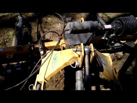 Harley Rake Removing Worn Out Lawn in Warwick, RI