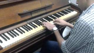 w bena m3ad - amr diab piano by : Ahmed yassin